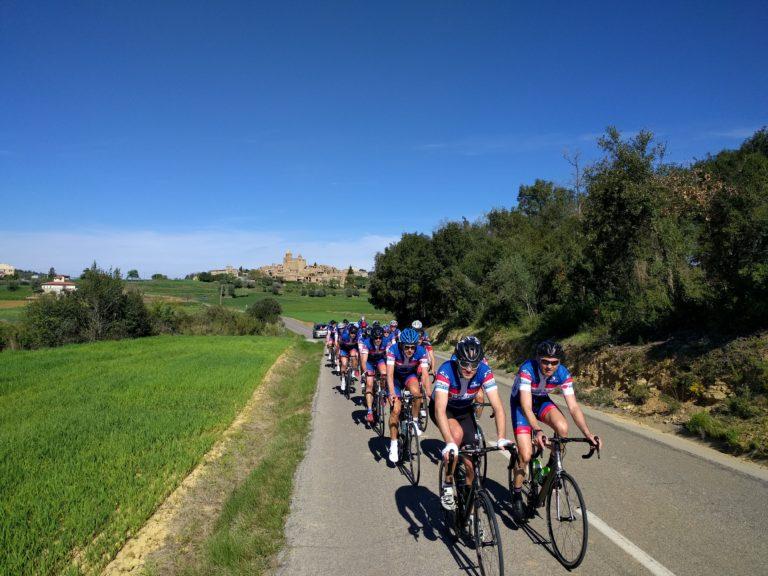 Tweede trainingsstage in Girona