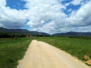 Gravelweg rond Girona
